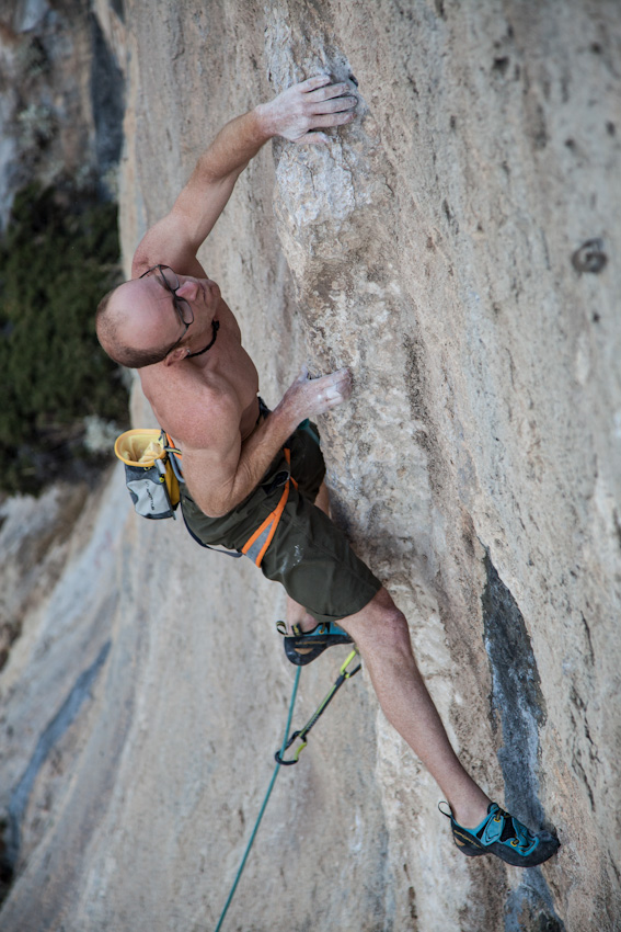 Iker Pou on PROject competition route, 206 kb