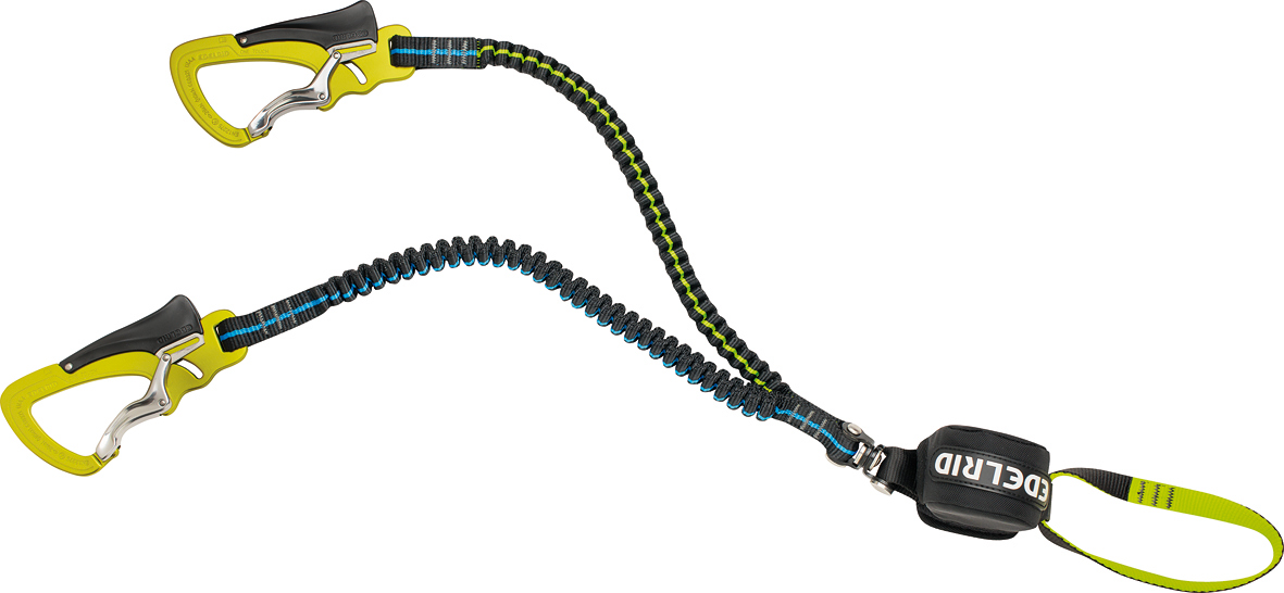 EDELRID Cable Vario Set (with New Elasticated Webbing Lanyards), 158 kb