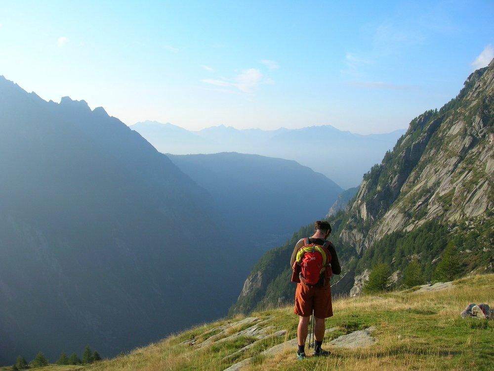 High in the Val di Ferro above Val di Mello, 99 kb