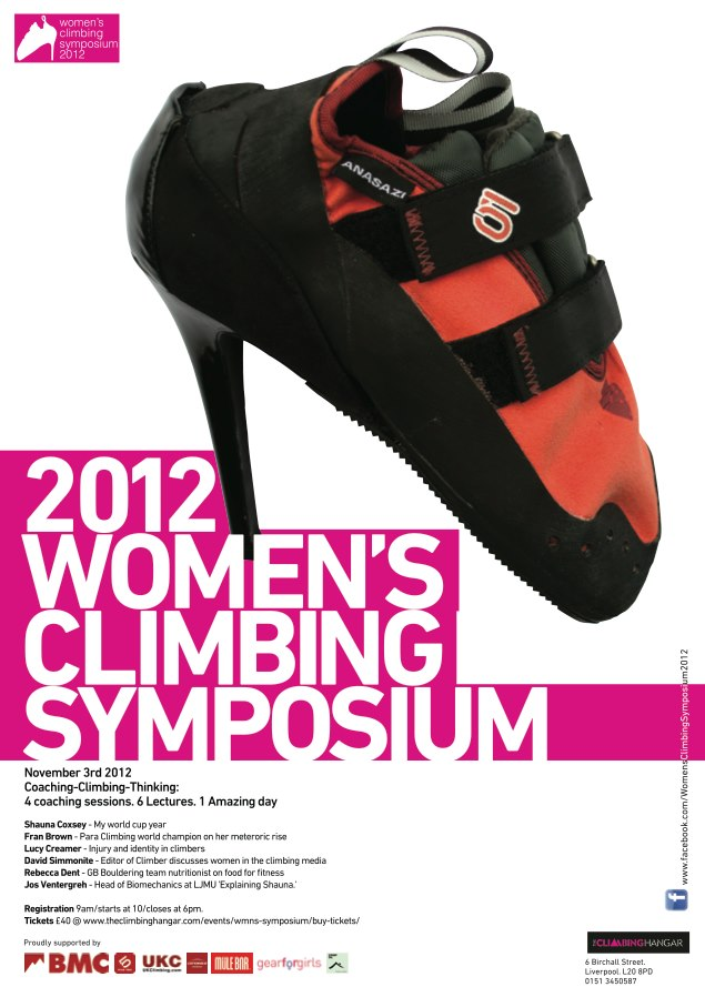 Womens Climbing Symposium 2012 - poster, 90 kb