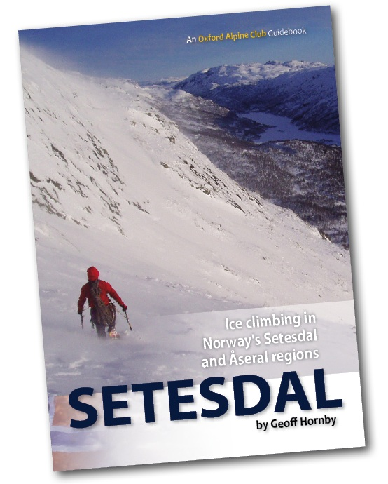Setesdal Guidebook - Ice Climbing in Norway's Setesdal and Aseral Regions, 99 kb