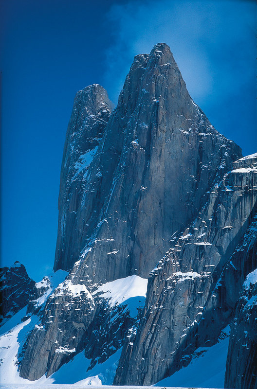 The western flank of Mt Asgard, Baffin Island, 130 kb