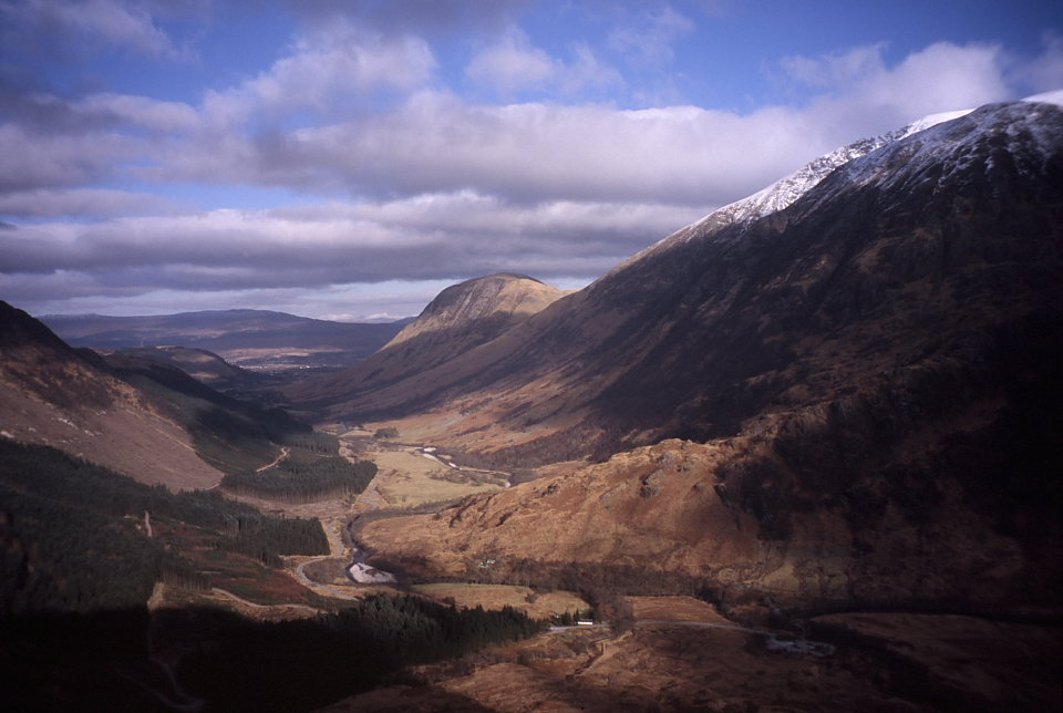 Ben and Glen Nevis, 90 kb