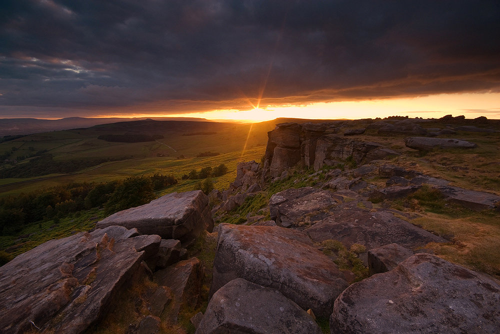 Sunset at Stanage Plantation, 168 kb
