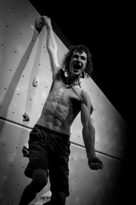 Adam Ondra winning the La Sportiva Legends Only 2011, 26 kb