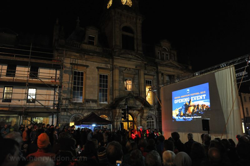 The opening ceremony on the Kendal high street - a huge success!, 60 kb