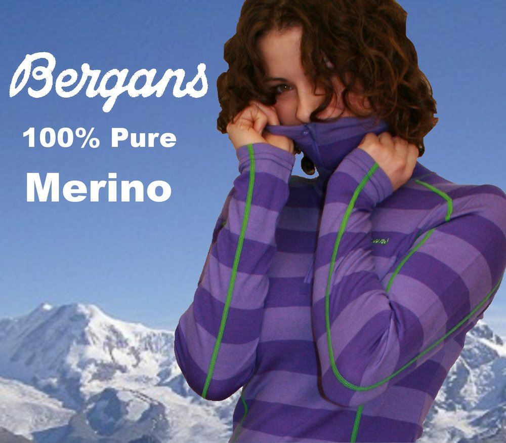 Introducing Bergan�s Merino Wool Base Layers. #1, 121 kb