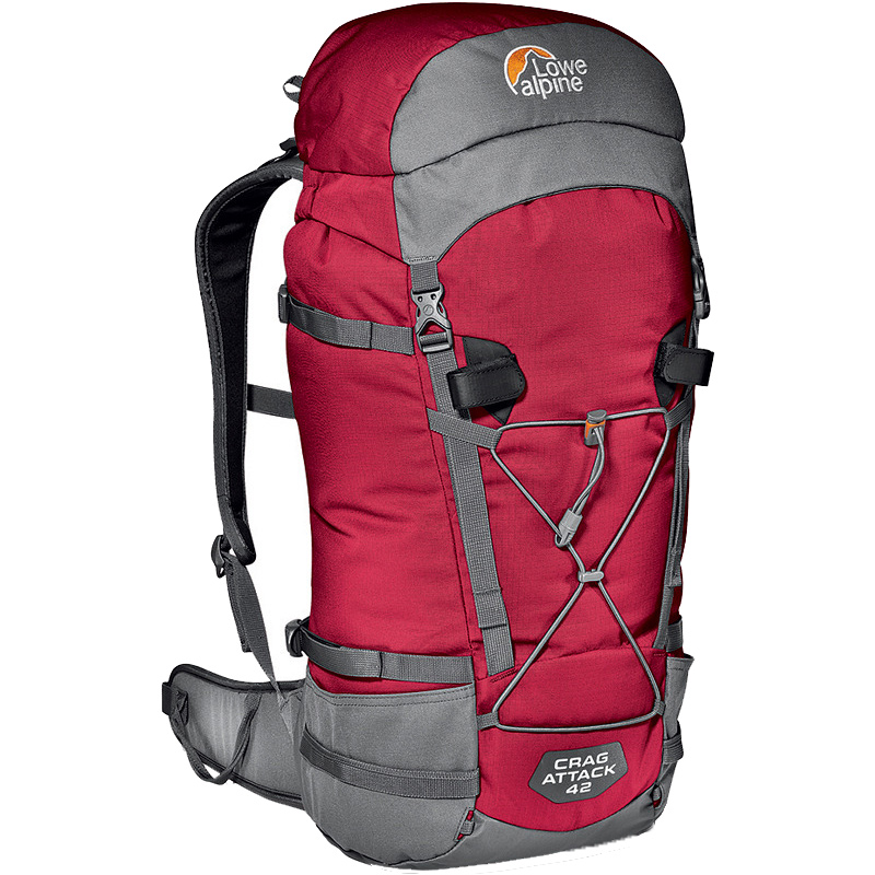 Lowe Alpine Crag Attack 42 - Chili Red, 205 kb