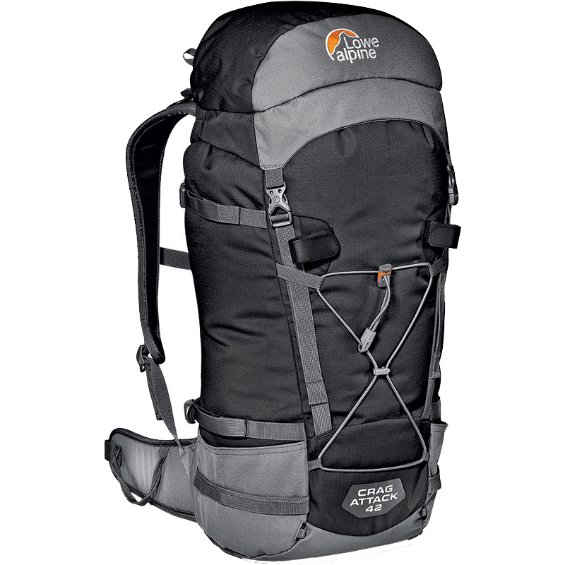 Lowe Alpine Crag Attack 42 - Black, 177 kb