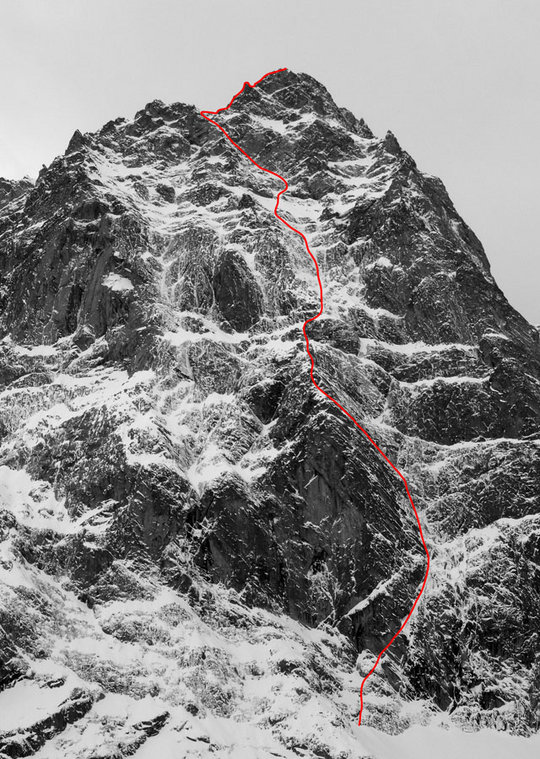 Line of new route, 159 kb