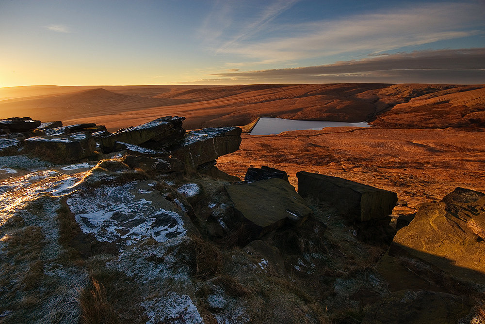 Frosty Sunrise at Buckstones, 221 kb