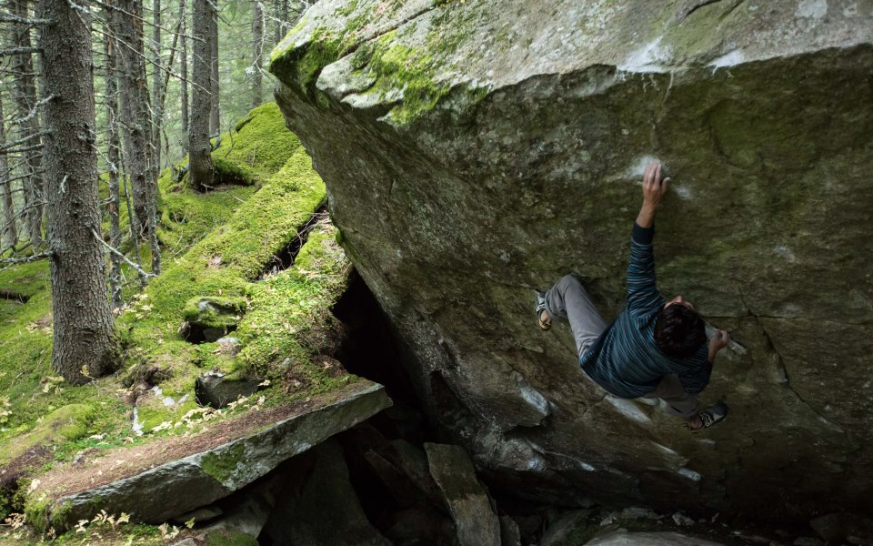 Paul Robinson on American Gangster, 8B+, Zillertal, 169 kb