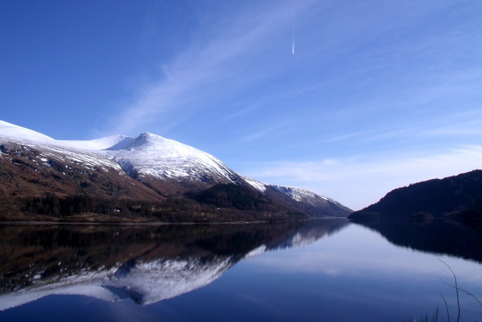 Helvellyn from Thirlmere, 72 kb
