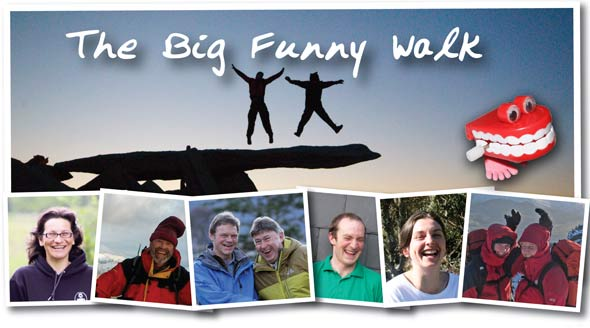 Plas y Brenin Big Funny Walk, 34 kb