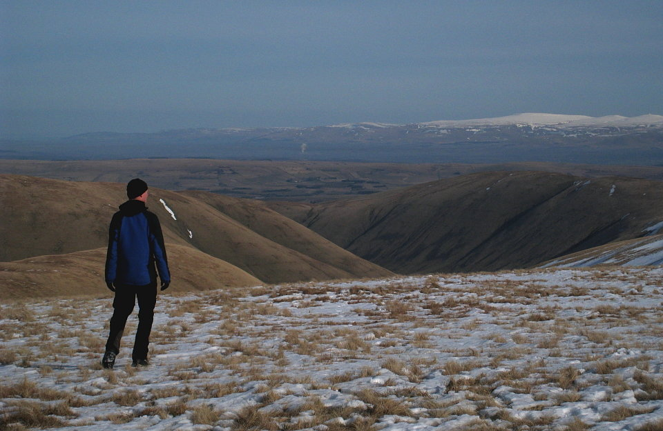 Early morning in the Howgills - an area mooted for inclusion in an expanded Yorkshire Dales National Park, 120 kb
