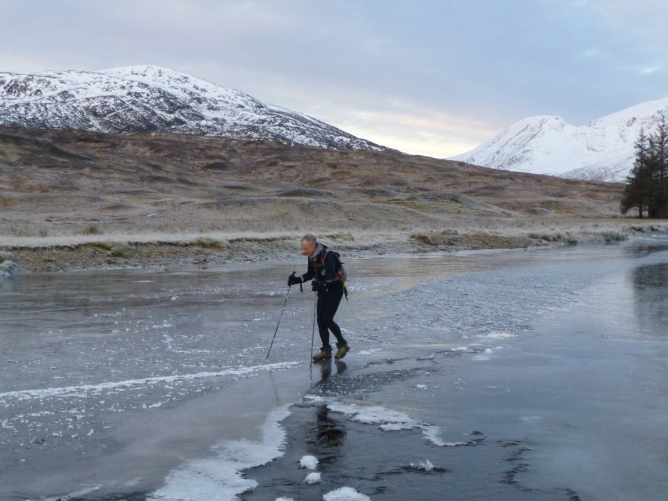 Teetering across thin ice on the Abhainn Rath , 124 kb