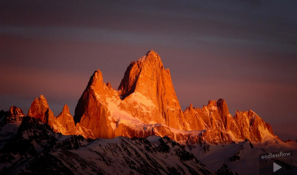 Fitzroy and Poincenot, Patagonia, 56 kb