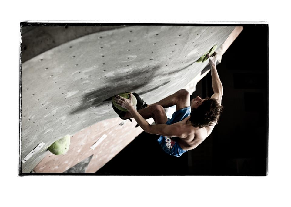 Guillaume Glairon Mondet competing in the La Sportiva Legends Only 2013, 53 kb
