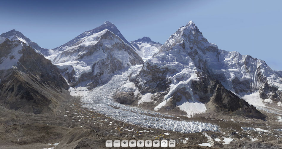 Everest, Lhotse and Nuptse, 115 kb