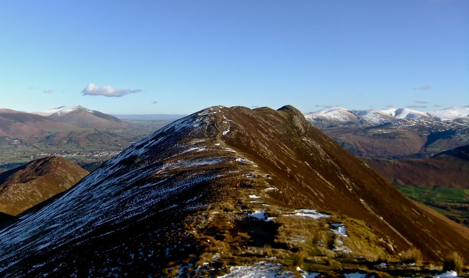 Causey Pike from Scar Crags, 120 kb