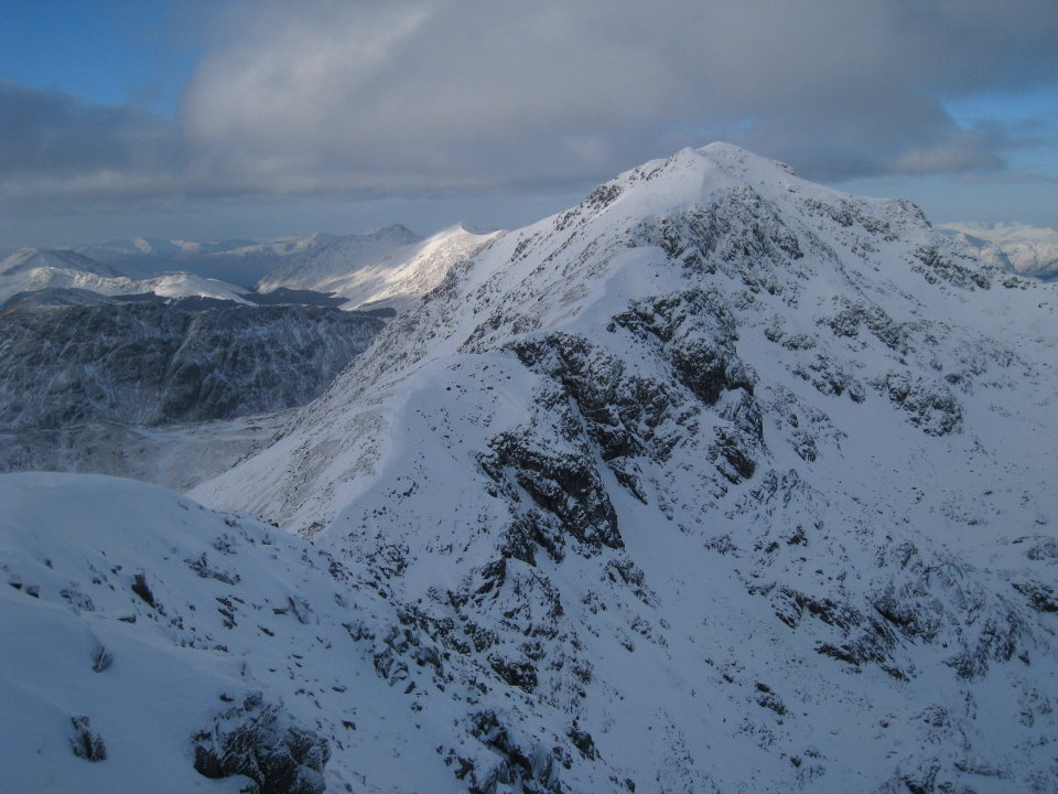 Bidean nam Bian in winter, 132 kb