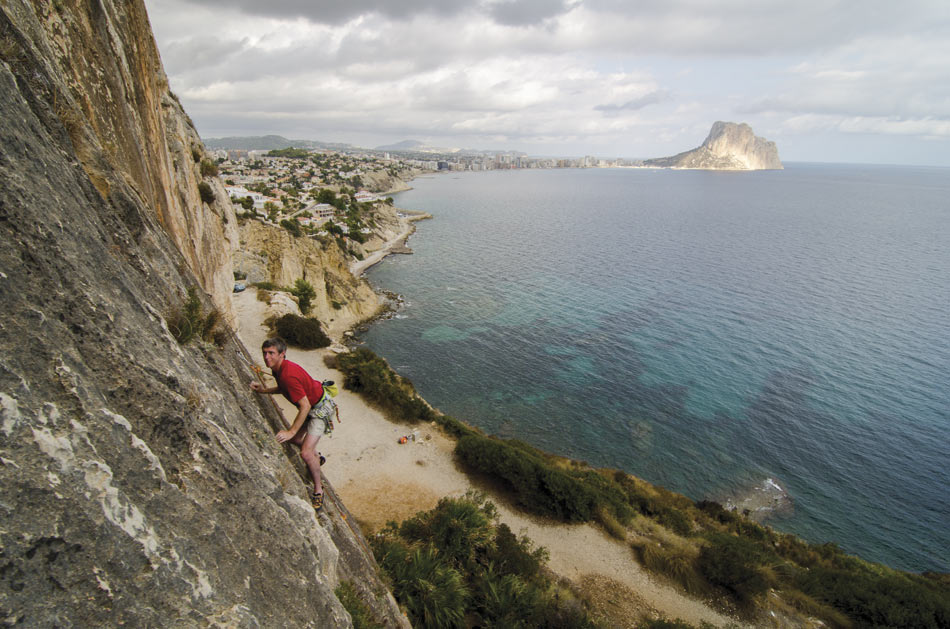 Plata (6a+) at Toix Este from the new Costa Blanca Rockfax, 131 kb