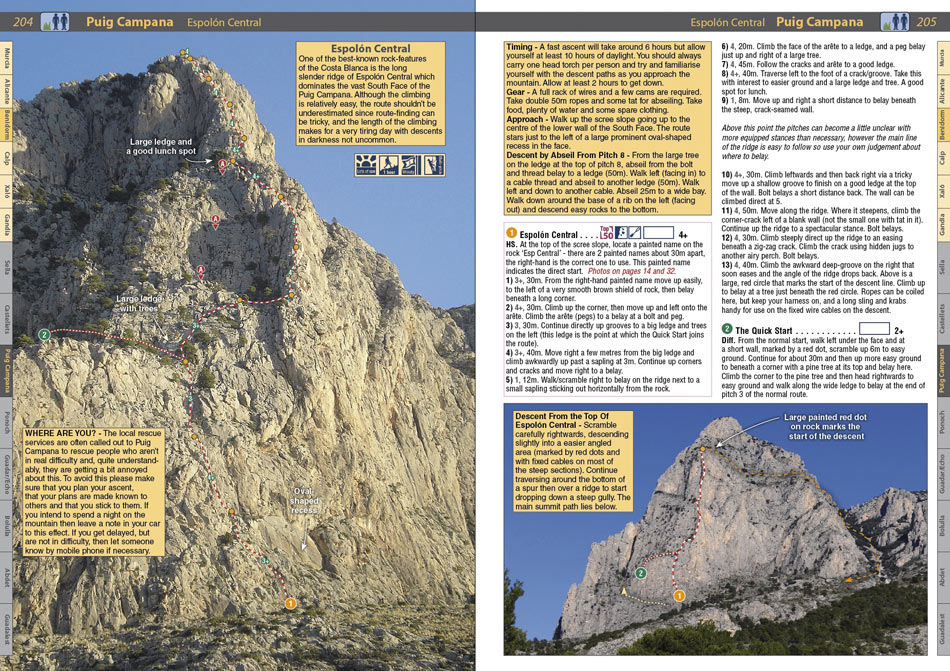 Spain : Costa Blanca example page 1, 240 kb
