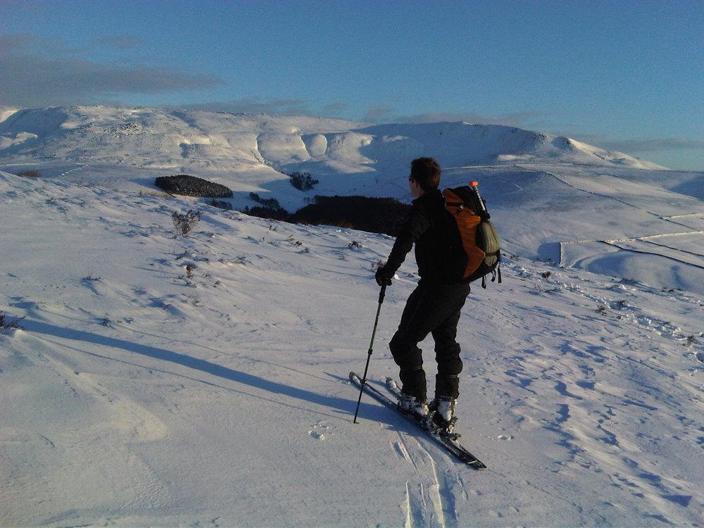 Ski tour on Kinder, 148 kb