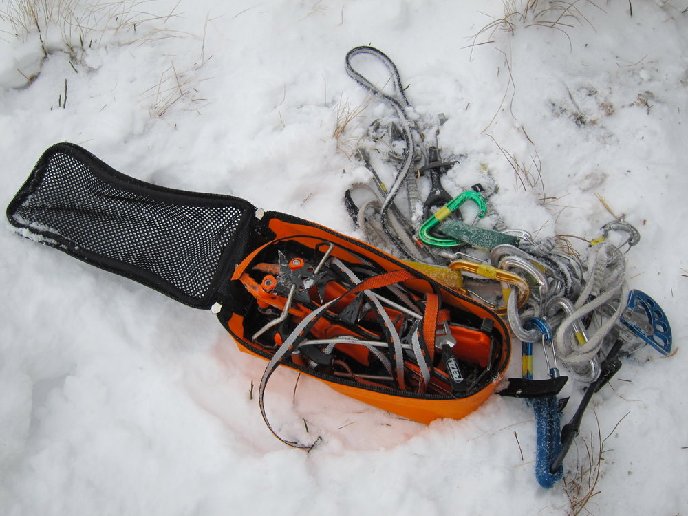 Lynx - PU and mesh crampon bag, 146 kb