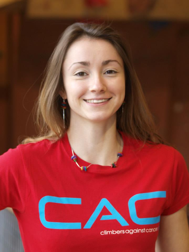 Natalie Berry sporting her CAC T-shirt, 48 kb