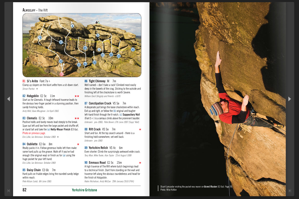 Sample Pages from the new YMC Grit guide volume 1, 238 kb