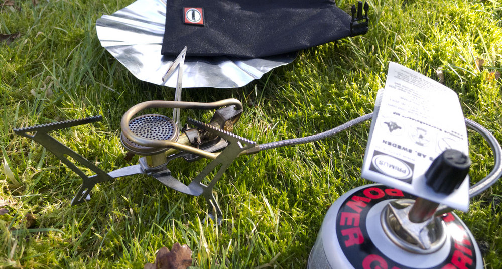 The Primus ExpressLander multi-fuel camping stove, 243 kb