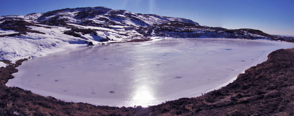 Deep freeze � near Aghla Mountain, Blue Stack Mountains, Co.Donegal, 80 kb