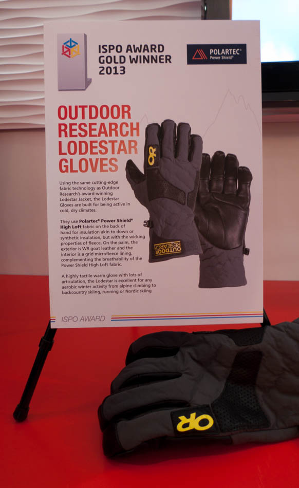 ISPO Award Winner 2013 - OR Lodestar Glove, 74 kb