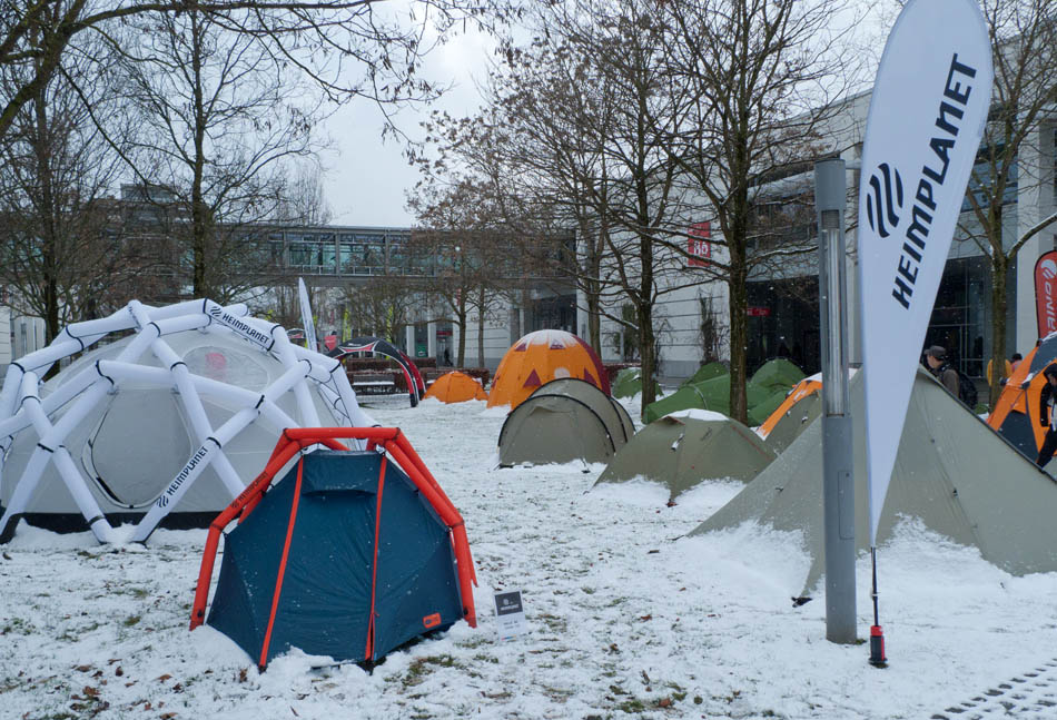 The Tent Garden At ISPO Outdoor Trade Show 2013, 179 kb