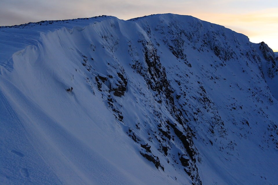 Coire an t-Sneachda on a good day - conditions on Sunday were horrendous , 115 kb