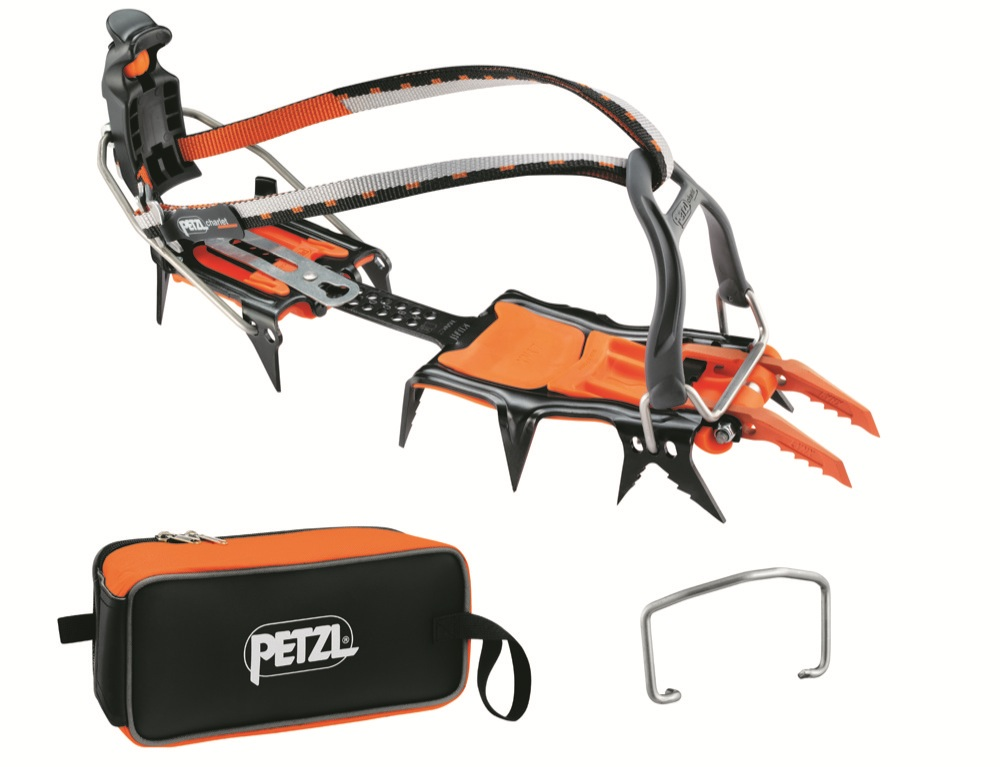 Petzl Lynx with crampon bag., 102 kb