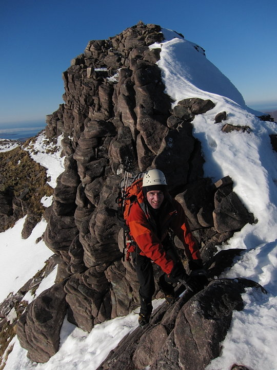 Enjoying the fruits of a good weather forecast on An Teallach, 101 kb
