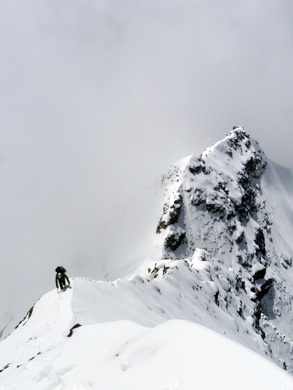 "Nick Bullock on ""Kusum Kanguru and Kyashar ridge"" Nepal. (Photo: Andy Houseman), 86 kb"