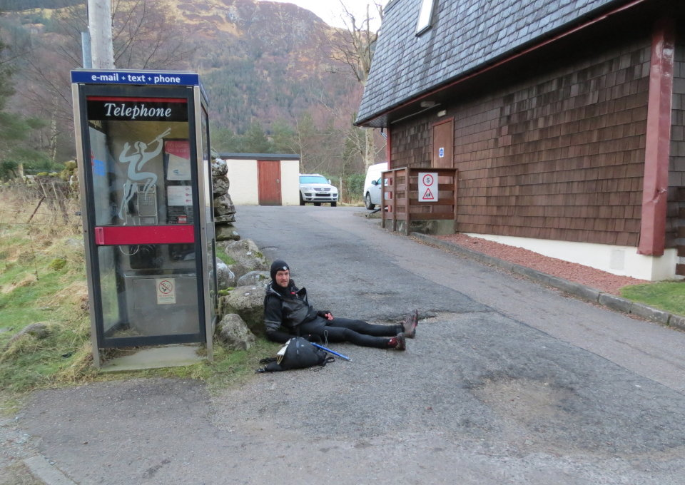 Jon Gay at the finish in Glen Nevis, 154 kb