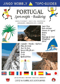 Portugal- Sport Onsight and Bouldering Guidebook cover, 25 kb