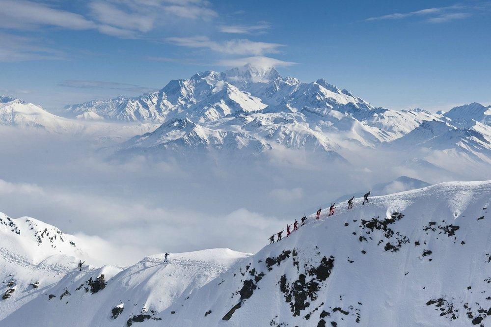 Awesome views on the Pierra Menta ski mountaineering race., 104 kb