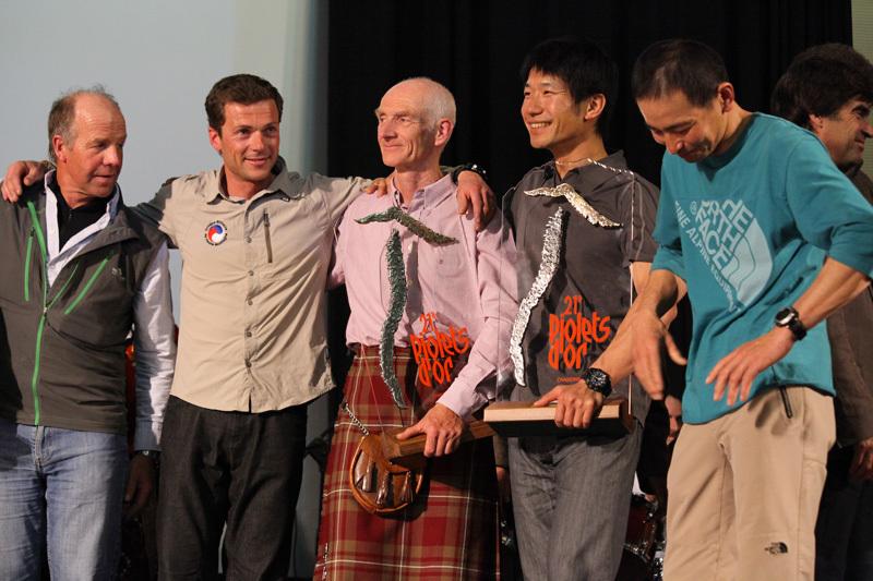 Sandy Allan (Nanga Parbat); Sebastien Bohin (Kamet); Rick Allen (Nanga Parbat); Yasuhiro Hanatani and Tatsuya Aoki (Kyashar) , 174 kb