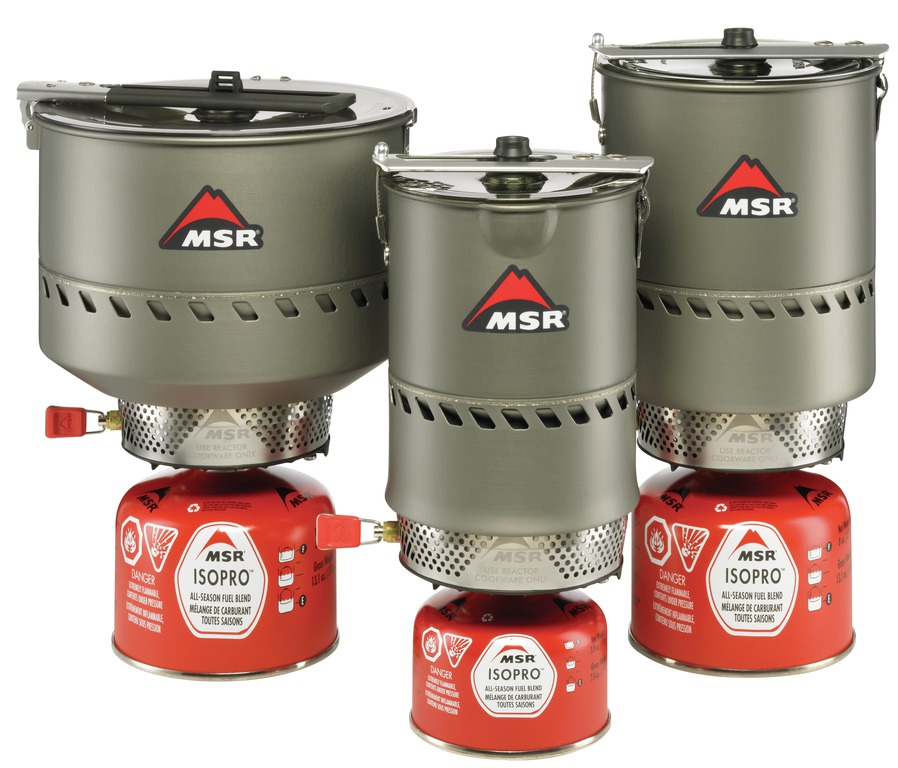 MSR Reactor Stove System Family, 132 kb