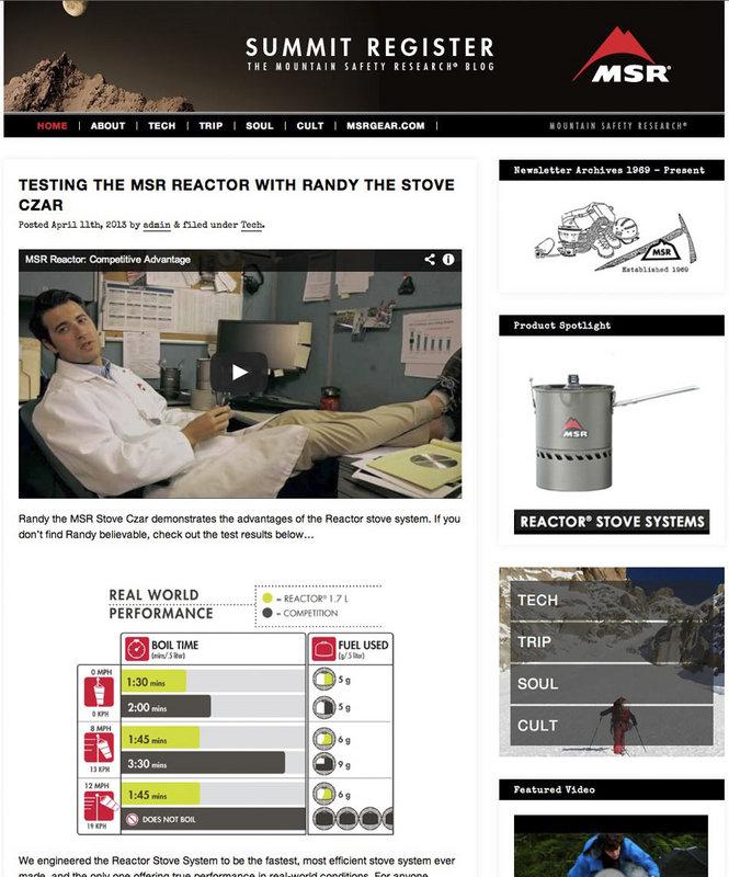 MSr summit Register Gear news screen shot, 115 kb