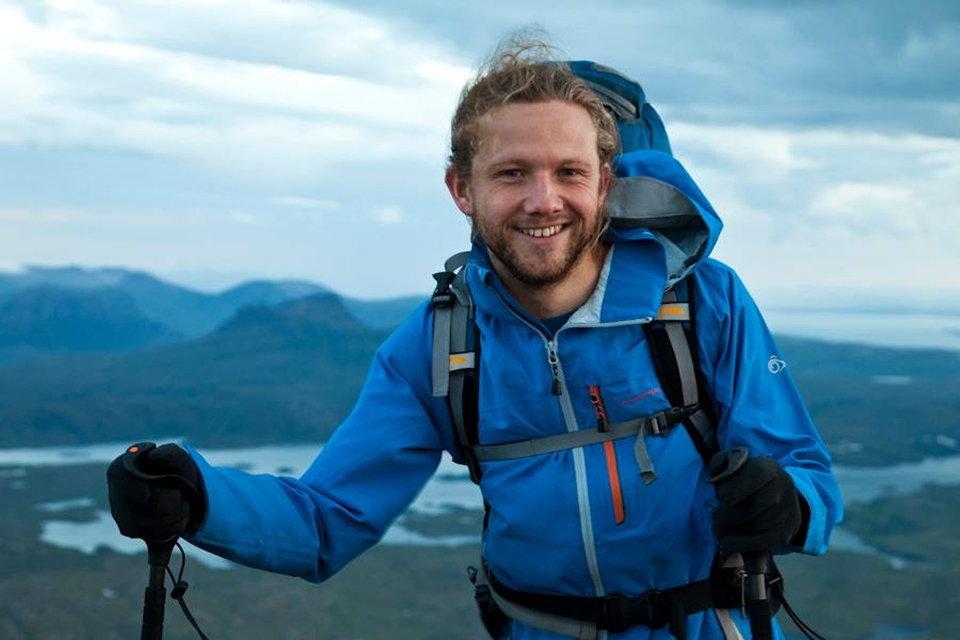 Carey Davies in his natural element, 80 kb