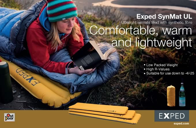 Exped SynMat UL 7 and UL 9, 88 kb