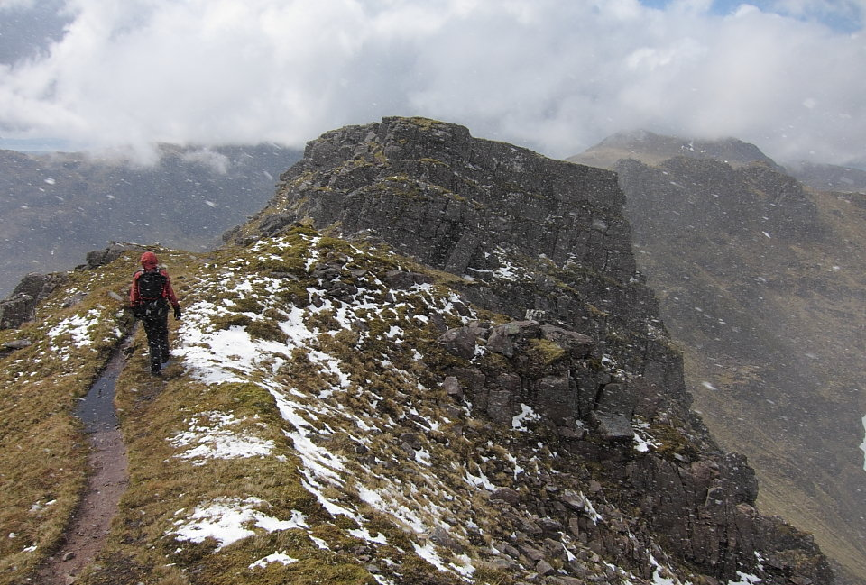 Spring squall on Beinn Tarsuinn - not what the forecast promised, 182 kb
