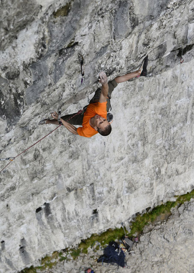 Steve McClure on Batman, Malham, 212 kb