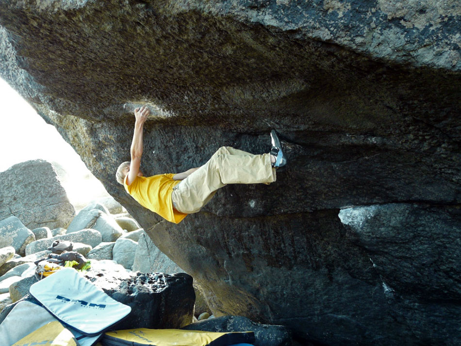 Alex Megos on the world class Llyn 8B, Das Pumpenhausen Testpiece, 180 kb